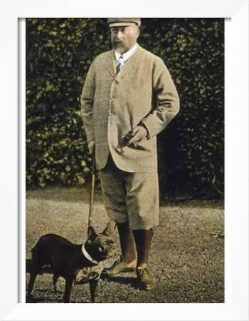 VII. Edward Bulldogjával