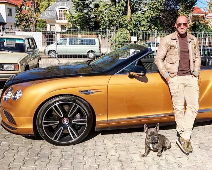 Berki Krisztián és kutyája