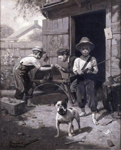 1900-as évek Bulldog ábrázolás
