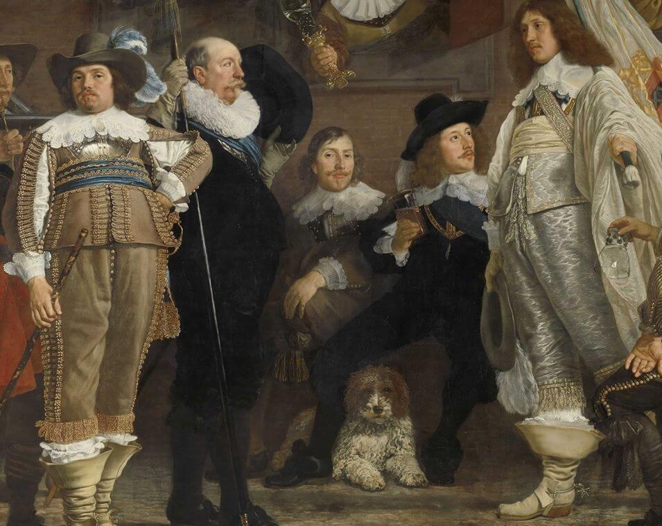 Lagotto XV. századi festményen